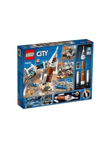 Lego LEGO City Uzay Roketi ve Fırlatma Kontrolü Renkli